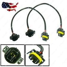 5202 Male to H11 Female Adapters Pigtail Socket Wires Plugs Conversion Harness