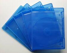 Elite Blu-ray Lot of Five 5 EMPTY Cases Disc Storage Jewelcase Silver Logo Jewel