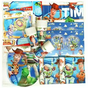 Toy Story Party Pack for 30 People - Tableware and Decorations - Childrens Party