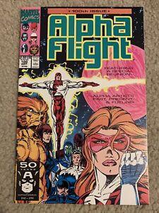 Marvel Comics Alpha Flight Issue# 100 123 124 128 129 130 (volume 1, 1983)
