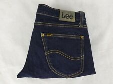 Lee  Size 12 Jeans Supa Tube Slim Dark Stretch Denim