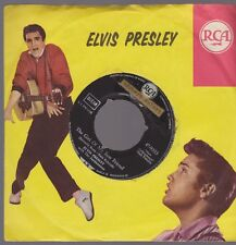 """7"""" Elvis Presley The Girl Of My Best Friend / A Mess Of Blues RCA 47-9333"""
