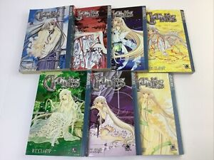 Chobits by Clamp Volumes 1-5, 7 & 8 Lot Of 7 Manga Books English Great Cond