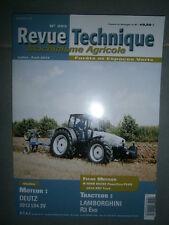 Lamborghini tracteur R3 Evo 85 100 110 : revue technique RTMA 203