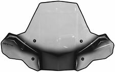 Powermadd - 24574 - Pro Tek ATV Windshield, No Cut Out with Rapid Release Mount`