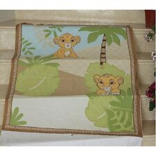Fabric King Lione Cot Panel Quilting Craft Cotton Material Baby