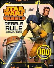 Star Wars Rebels: Rebels Rule: Activity Book, New, Lucasfilm Book
