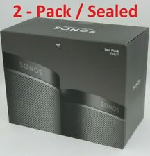SONOS Play: 1 Set 2-pack Wireless WIFI Streaming Compact Speakers Designed in US