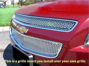 08-2012 Chevy Malibu chrome mesh grille insert grill overlay trim LS LT LTZ