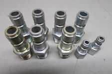 Amflo Cp9 Fitting Lot Of 7 With Parker C3 Lot Of 2