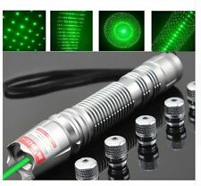 Powerful Green Laser Pointer Adjustable Lazer Pen 10w 12000 Meters