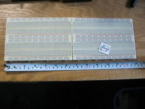 Solderless Breadboard Proto-Board 13x4.5 Metal Base - Used
