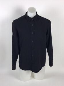 Outlier S140 Shirt Button Front Hidden Pocket Men's Size M