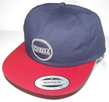 New O'Neill Mens Richter Adjustable Snapback Baseball Cap Hat OSFA