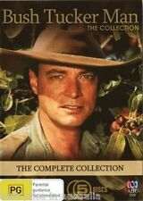 BUSH TUCKER MAN: The COMPLETE Collection DVD NEW POPULAR ABC TV SERIES 5-DISC R4