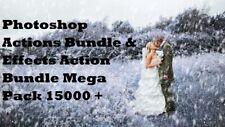 Photoshop Actions Bundle & Effects Action Bundle Mega Pack 15000 +