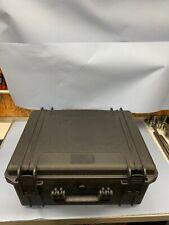 Werkzeugkoffer wasserdicht Schwarz Kunststoff