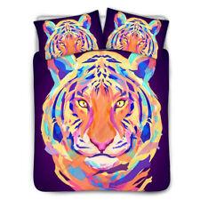 Cool Cat Wolf Bedspread Sheet Duvet Cover Ultra Soft Pillowcase 3pcs/set allsize