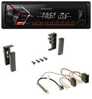 Pioneer USB AUX MP3 1DIN Autoradio für Audi A2 A3 8L 99-00 A4 B5 99-01 A6 C5 97-