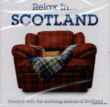 RELAX IN - SCOTLAND -  VARIOUS ARTISTS (NEW SEALED CD)
