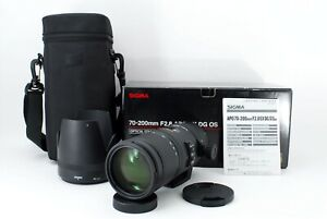 [Opt Mint] Sigma 70-200mm f/2.8 APO EX DG OS HSM AF Lens for Canon EF Japan 411