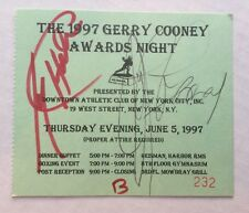 1997 Signed LARRY HOLMES & GERRY COONEY World HEAVYWEIGHT CHAMPION BOXING Ticket