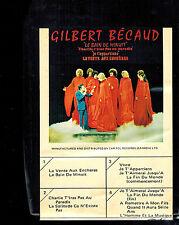 CARTRIDGE CARTOUCHE 8 PISTES 8 TRACKS GILBERT BÉCAUD : LE BAIN DE MINUIT