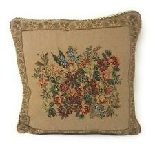 DaDa Bedding Elegant Wildflower Floral Square Accent Pillow Cushion Cover Case