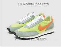 "Nike Daybreak ""Lime Green Orange"" Trainers Limited Stock All Sizes"