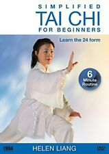 Simplified Tai-chi for Beginners DVD - 24 Form YMAA Beginner Tai Chi Exercise