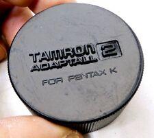 Tamron K Rear Lens Cap for Pentax PK Bayonet MOUNT for  28mm 90mm 50mm