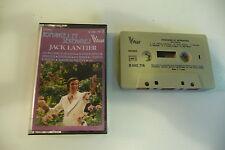 JACK LANTIER K7 AUDIO TAPE CASSETTE. ROMANCES ET SERENADES.