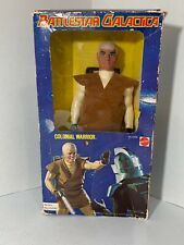 Mattel Battlestar Galactica Colonial Warrior With Laser Gun Iob.