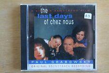 The Last Days Of Chez Nous (Original Soundtrack Recording)   (Box C284)