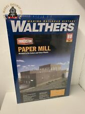 Walthers Cornerstone HO Scale Superior Paper Mill Kit 933-3902