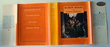 3 Books! TREASURE ISLAND, KIDNAPPED R. L. Stevenson ROBIN HOOD Creswick ILLUS W