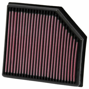 K&N 33-2972 Replacement Air Filter for 02-14 Volvo XC90 S60 XC70 V70 2.4L L5 DSL