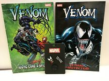 Venom Graphic Novel and Pin Bundle (Lethal Protector/Along Came a Spider)