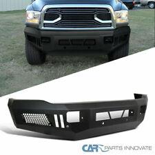 Dodge 10-18 Ram 2500 3500 Pickup Textured Black Steel Front Bumper Guard Protect