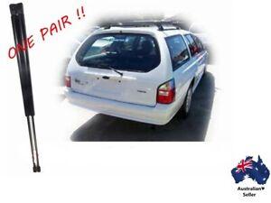2 x NEW Ford Falcon Fairmont AU Series Wagon rear door Gas Struts 1998 to 2002