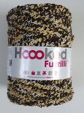 "Hoooked `Fuzzilli - recycelte Baumwolle - Terra Mix"" Neu Häkeln, Stricken 530gr"