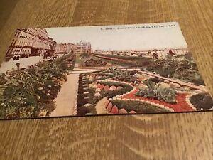 VINTAGE POST CARD 1919 CARPET GARDENS,EASTBOURNE.