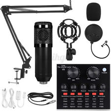 More details for bm800 condenser microphone mic kit with v8x multifunctional recording sound card