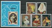 Timbres Arts Tableaux Personnages Haute Volta PA145/9 BF5H ** lot 14438