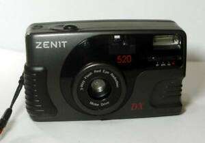 VERY RARE Zenit-520 35mm Automatic compact film camera -=One on eBay...