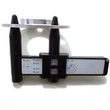 Car Wheel Rim Gauge Ruler Precise Tire Bolts PCD Measuring Tool ABS Portable