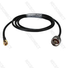 3Ft N Type Male to SMA Male Plug KSR195 Pigtail Adapter Coaxial Cable WLAN