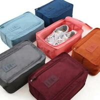 Shoe Bag With Zip Storage Travel Shoes Waterproof Pouch Organizers Portable Tote