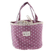 Dot Insulated Lunch Sac de rangement Picnic Carry Tote Travel Bento Pouch