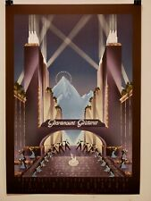 Robert Hoppe Paramount Pictures 75th Anniversary 14 plate Lithograph 1989